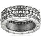 Pandora Women's Ring 925 Sterling Silver Cubic Zirconia Crystal Logo - 190962CZ silver