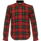 Barbour Sea Mill Rich Red Tartan Shirt MSH3763RE33