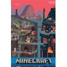 GB Eye Minecraft World Affisch