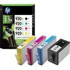 HP 920XL - 4-pack - High Yield - Colour (cyan, Magenta, Yellow, Black) - Original - Ink Cartridge - For Officejet 6000, 6500, 6500 E709a, 6500A, 6500A E710a, 7000, 7500A C2N92AE - C2000