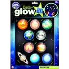 The Original Glowstars Company - Glow 3-D Stickers - Planets
