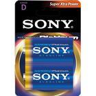 SONY Platinum batteri, D-LR20 Stamina PLATINUM, 2-pack