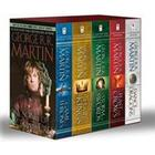 George R. R. Martin's a Game of Thrones 5-Book Boxed Set (Song of Ice and Fire Series): A Game of Thrones, a Clash of Kings, a Storm of Swords, a Feas (Häftad, 2013)