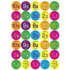 Reward Stickers Times Tables