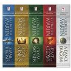 George R. R. Martin's A Game of Thrones 5-Book Boxed Set (Song of Ice and Fire Series) (E-bok, 2015)