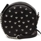 Mango Stud Cross Body Bag