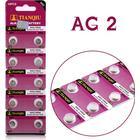 knappcellsbatteri AG2 10-pack
