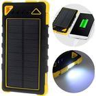 MTP Products Dubbel USB Vattentålig Solcellsladdare - 8000mAh - Gul