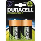 Batteri Duracell Rechargeable D/HR20 2st/fp