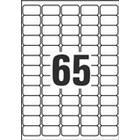 Laseretiketter Avery L7651 38,1x21,2 6500st/fp