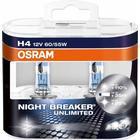 Osram NightBreaker Unlimited H4 pære +110% mere lys (2 stk)