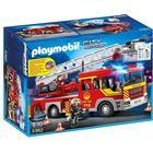 Playmobil Brandbil Med Stige, Lyd Og Lys 5362