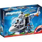 Playmobil Politihelikopter Med LED Søgelys 6921