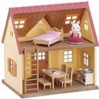 Sylvanian Families Cozy Cottage begynderhus med møbler