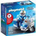 Playmobil Politimotor Med LED Lys 6923