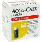 Accu-Chek Fastclix Lancets 102 items