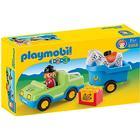 Playmobil Bil med hestetrailer 6958