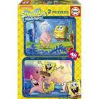 Educa 2X48 Spongebob Puzzle