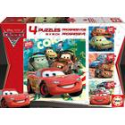 Educa Progressive Cars 2 12-16-20-25