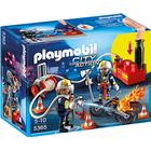 Playmobil Firefighters With Water Pump 5365