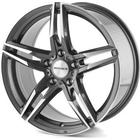 Monaco Grand Prix Anthracite/Polished front 18x8,0 5/112 ET45 N66,5
