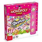 "Monopoly Junior Junior Monopoly ""Shopkins Jr"" Monopoly Board Game"