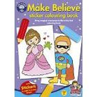 Orchard Toys Make Believe Sticker Colouring Book (Multi-Colour)
