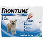 Frontline Flea Spot On Dog Medium Dog 10-20kg x 6