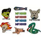 My Hood Orginale Stickers