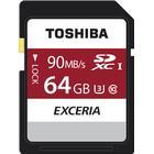 Toshiba Exceria N302 SDXC UHS 1 U3 90MB/s 64GB