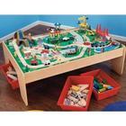 Kidkraft Wooden Waterfall Mountain Train Table & Set
