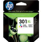 HP 301XL Tri Colour Inkjet Cartridge - CH564EE