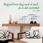 NiceWall Begynd Hver Dag Med Et Smil