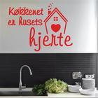 NiceWall Køkkenet Er Husets Hjerte