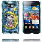 Samsung Paris Samsung i9100 Galaxy S 2 Hello Kitty Bling-Bling Cover