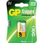 Batteri 9V Super alkaline 6LR61 1 st. pack - GP Batteries
