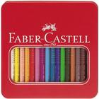 Faber-Castell Jumbo Grip Farveblyanter I Metalæske 16 Stk