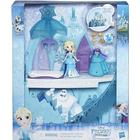 Disney Small Elsa doll with Ice Castle