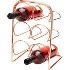 Hahn 70063 Hahn Pisa vinholder til 6 flasker kobber