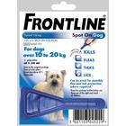 Frontline Flea Spot On Dog Medium Dog 10-20kg x 1