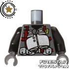 FireStar Toys LEGO Mini Figure Torso - Dino Vest - Binoculars