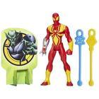 Hasbro Marvel Ultimate Iron Spider Web Warriors Web Slingers Iron Spider Figure B1253