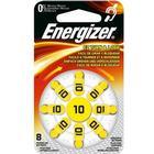 Energizer Hörapparatsbatteri Zinc Air 10 8-Pack