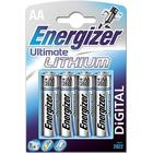 Energizer Batteri Ultimate Lithium AA/LR6 4-Pack