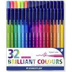 Staedtler Triplus Brilliant Colour 32 pc