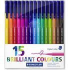 Staedtler Triplus Brilliant Colour 15 pcs