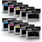 Prestige Cartridge HP 920XL Ink Cartridges Replacement for Officejet 6000/7000/7500A - Assorted Colour (Pack of 10)