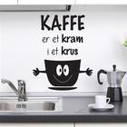 NiceWall Kaffe Er Et Kram I Et Krus 35x28cm
