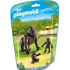 Playmobil Gorilla with Babies 6639