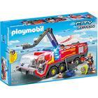 Playmobil Lufthavn Fire Engine Med Lys Og Lyd 5337